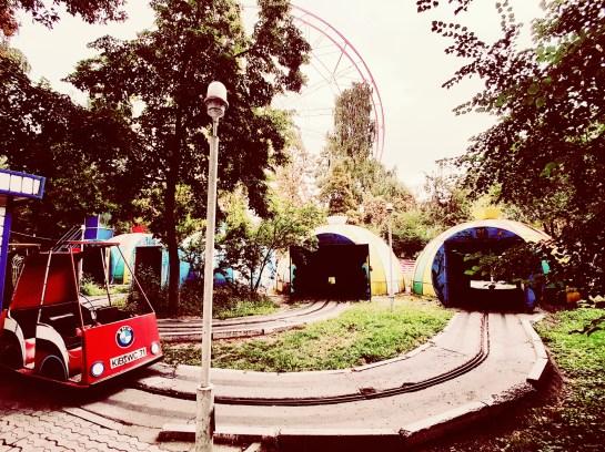 Panfilov park Bishkek Kirgizië
