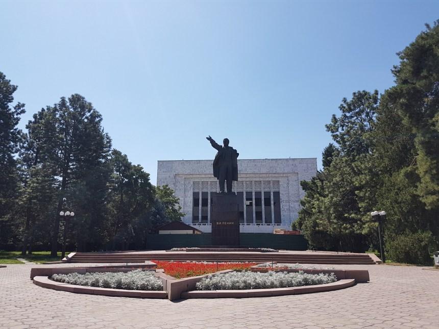 Lenin in Bishkek