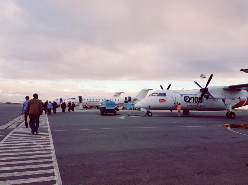 Luchthaven Nairobi
