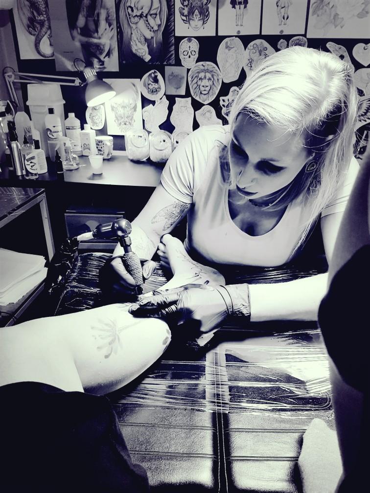 tattoo zetten