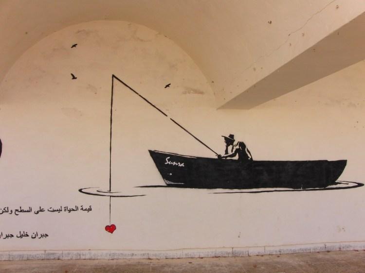 Djerba Tunesie streetart