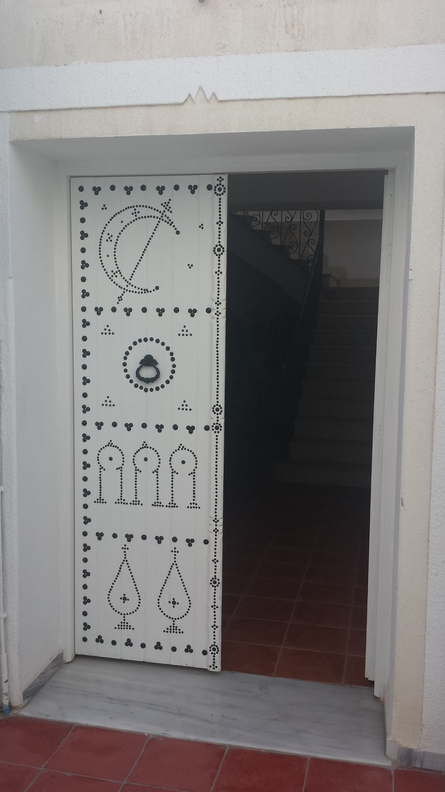 Djerba Tunesie oude deuren