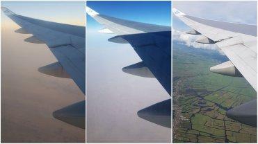 vliegen uitzicht vlucht