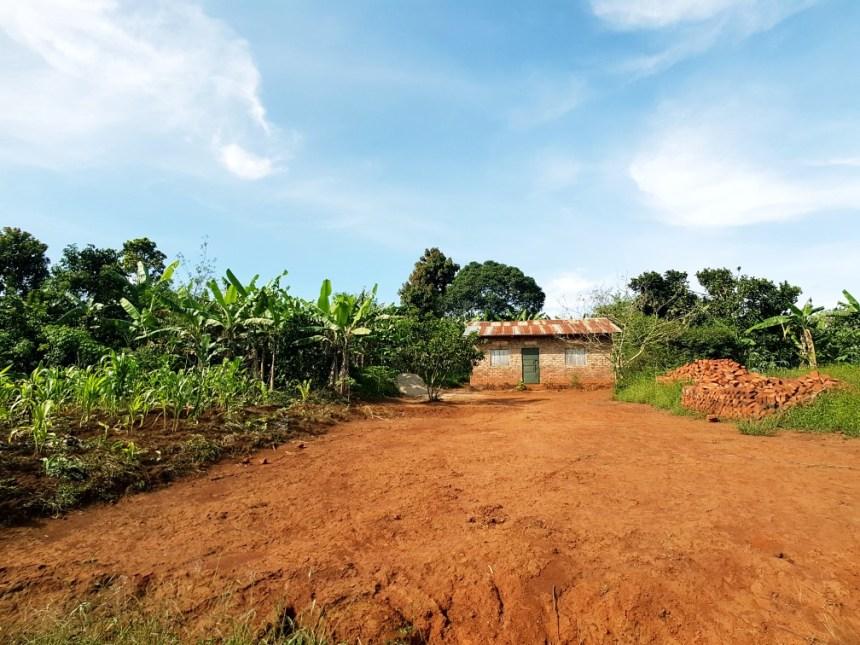 Huisje op het platteland Oeganda
