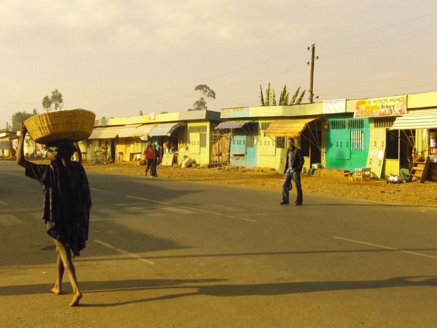 Ethiopië straatbeeld