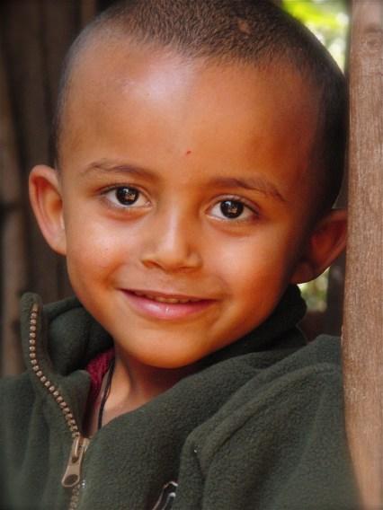 Ethiopië klein kindje