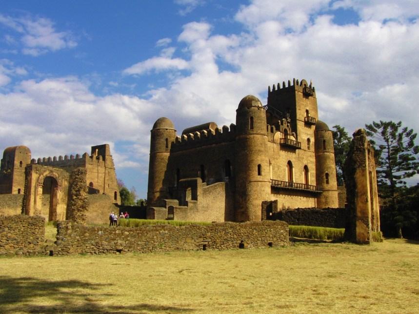 Ethiopië Gondar Kasteel