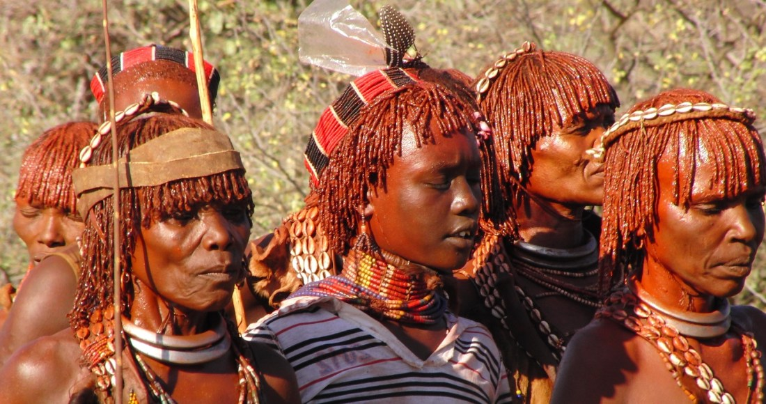 Ethiopië stammen zuiden
