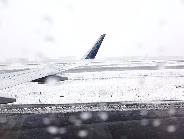 Schiphol sneeuw