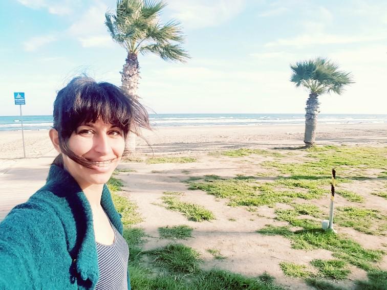 Larnaca strand Cyprus