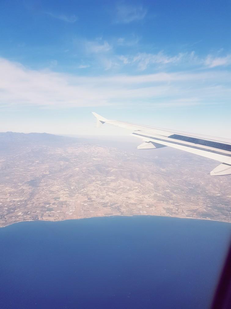 Cyprus vliegtuig