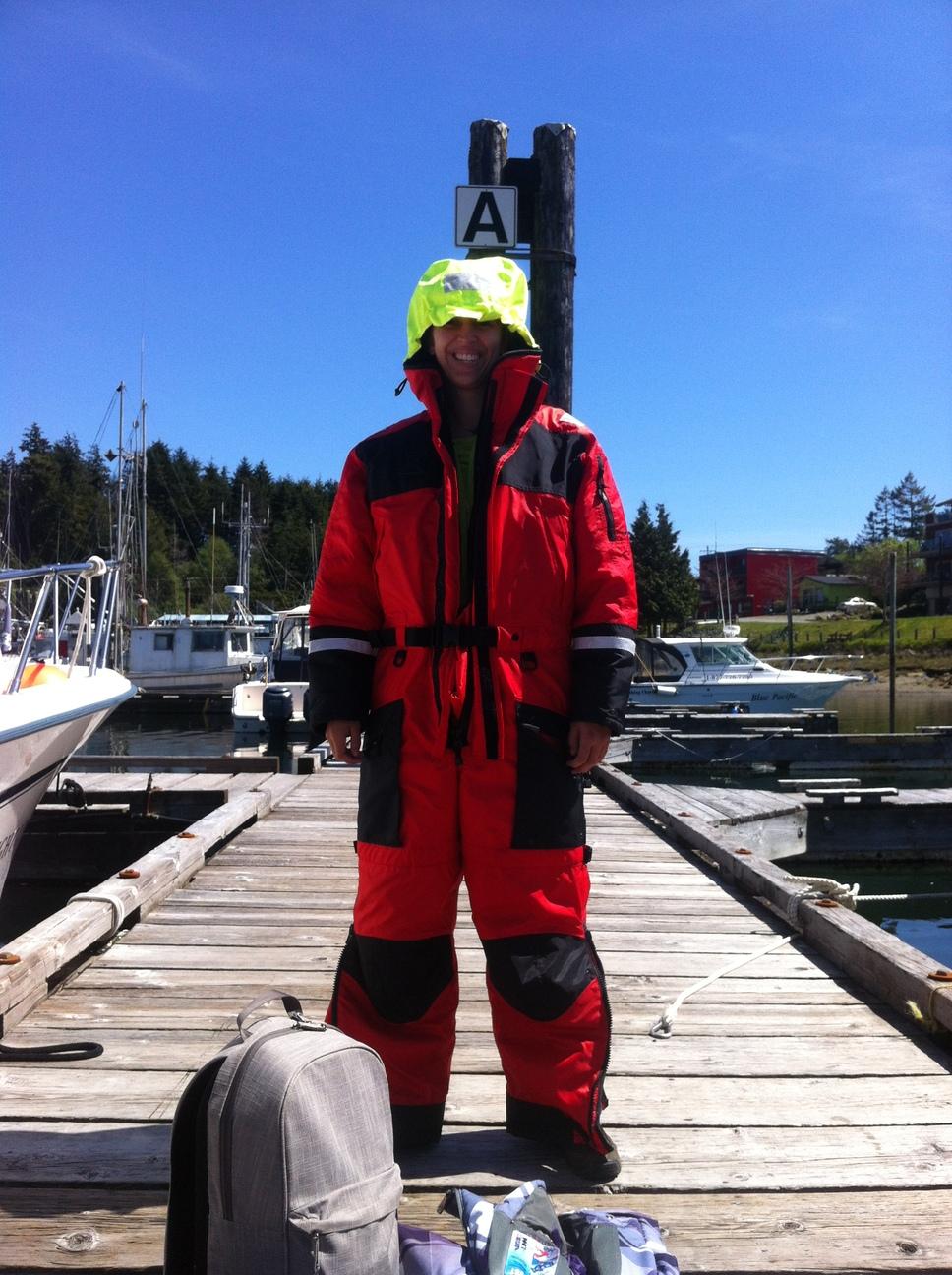 Walvis varen Vancouver Island Canada