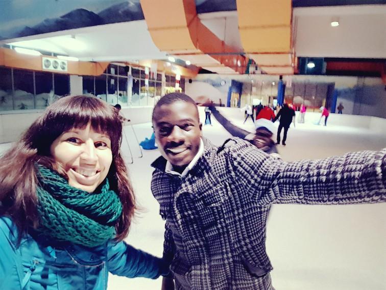 Weekoverzicht #2; schaatsen in Kenia, ontmoeting Olympische speler, luipaard