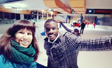 Nairobi schaatsen Panari hotel Kenia