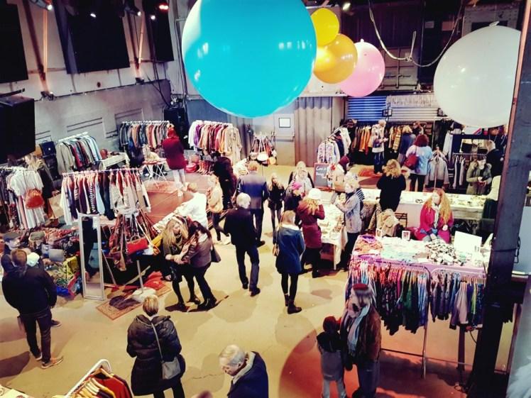 Moderne hippies markt Westergasfabriek