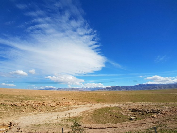 Atlas gebergte snelweg Marokko