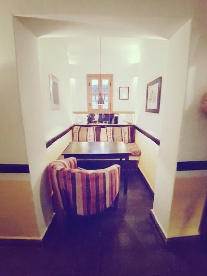Inrichting Nomad Cafe Marrakesh Marokko