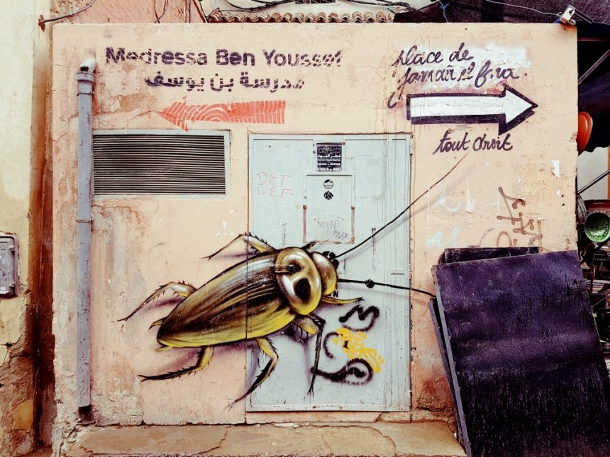 Streetart Marrakesh Marokko