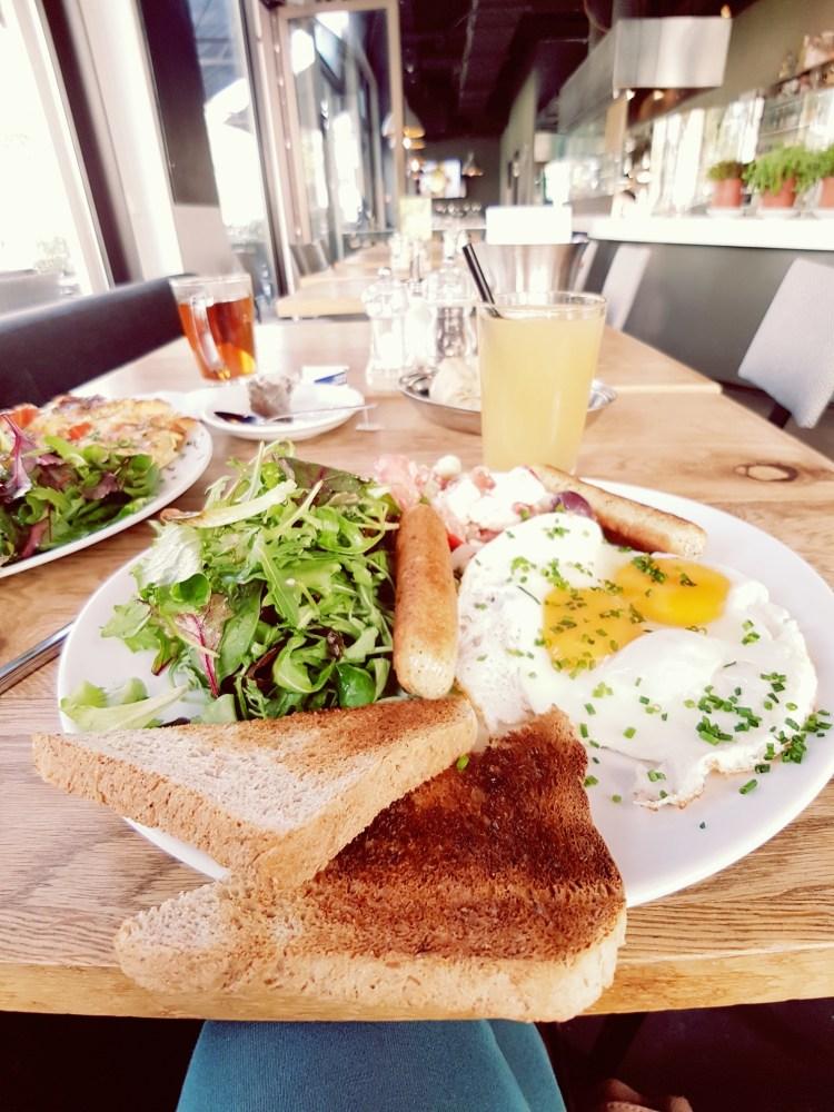 Vegetarische lunch Chipps Berlijn Duitsland