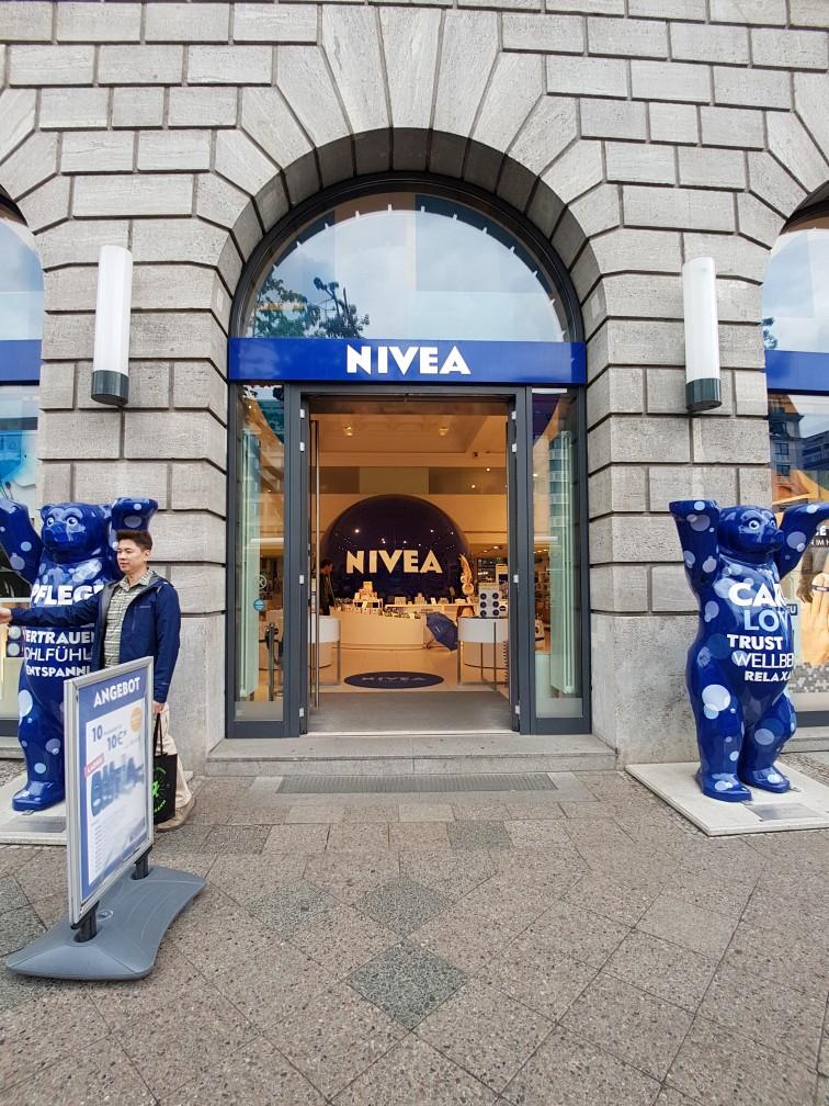 Nivea winkel Berlijn Duitsland