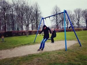 speeltuin in Malburgen Arnhem