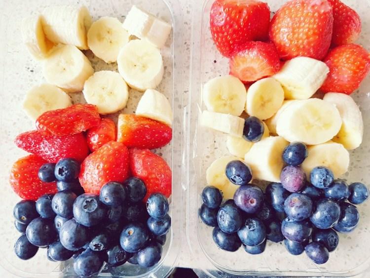 fruit invriezen voor smoothie
