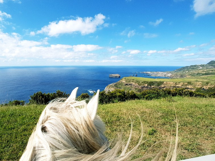 Sao Miguel Azoren Portugal Paardrijden (2)