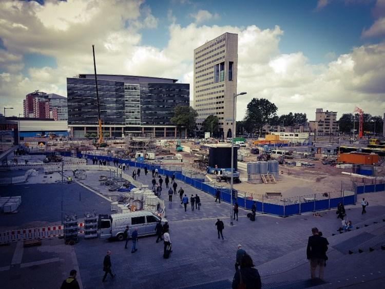 Bouwput Utrecht Centraal Jaarbeurs