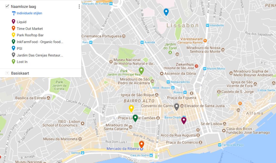 vegetarische restaurants Lissabon Portugal