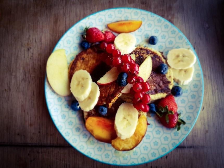 Lola's Arnhem ontbijt Banana pancakes met fruit