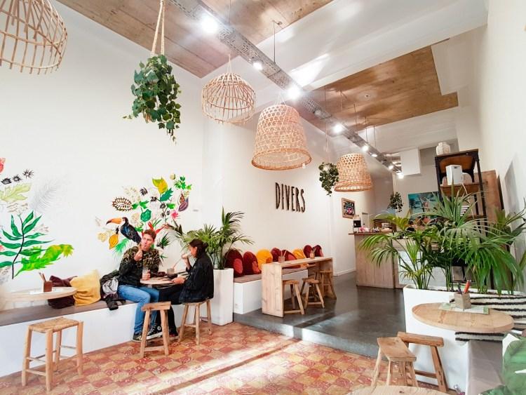Divers vegan cafe Antwerpen België
