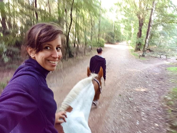 Paardrijden Landgoed Warnsborn Arnhem