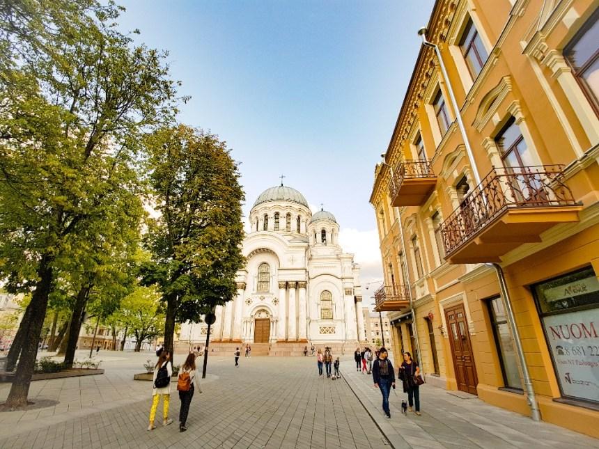 Cathedraal Kaunas Litouwen