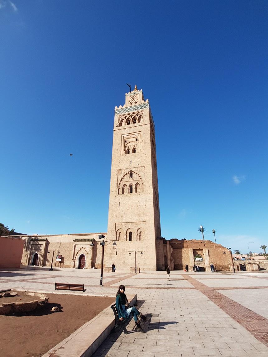 Marrakesh Marokko Koutoubia moskee