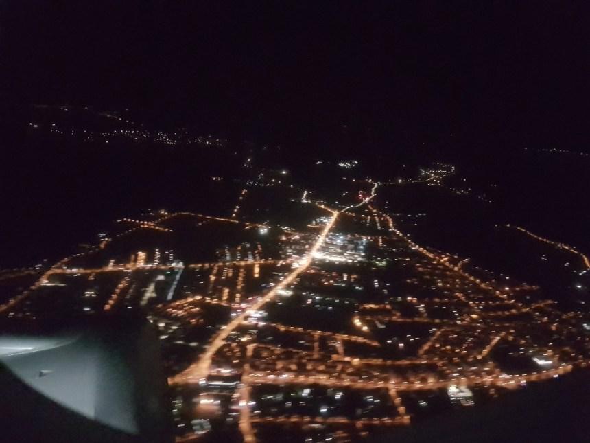 Stad vanuit de lucht
