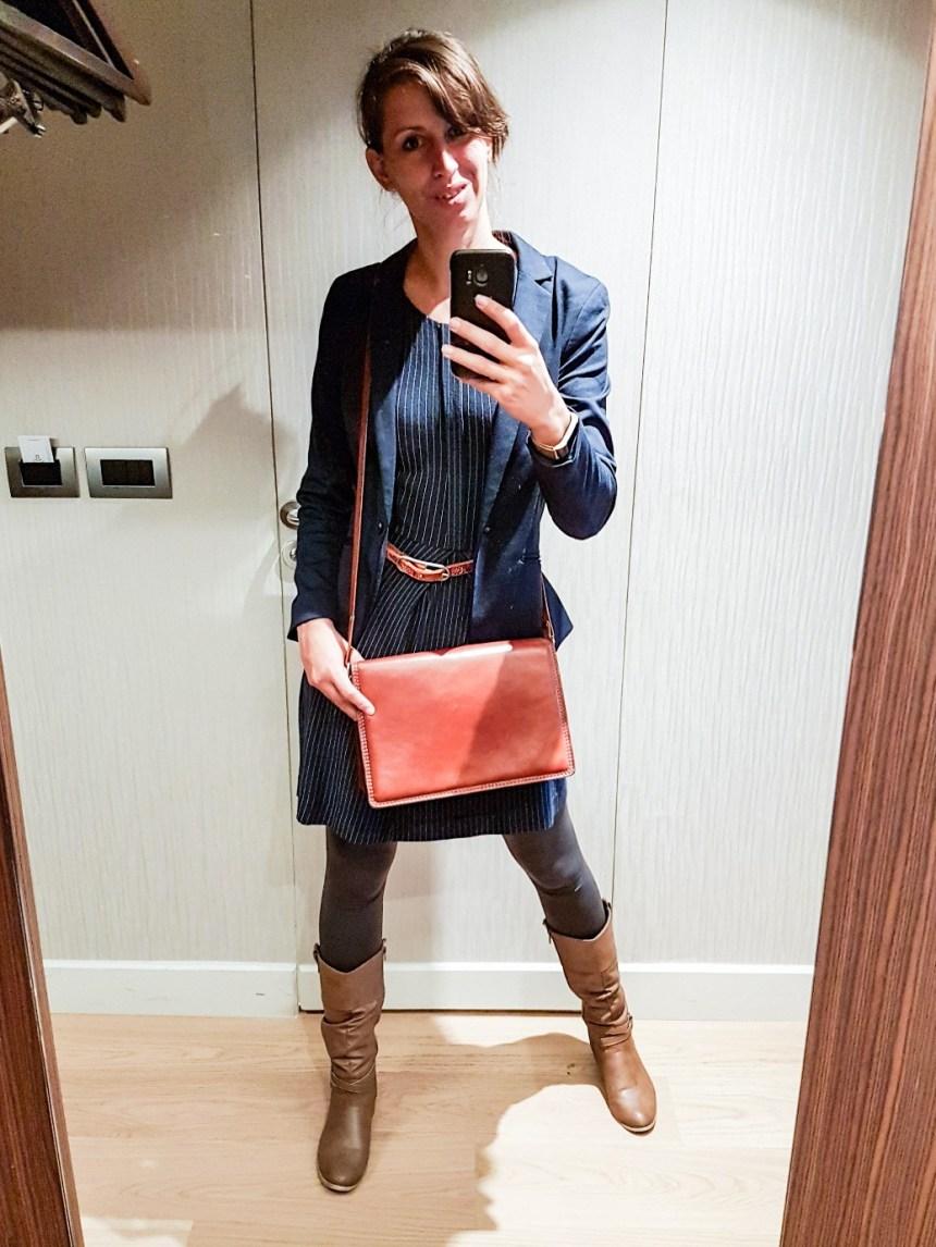 zakenvrouw tweedehands kleding