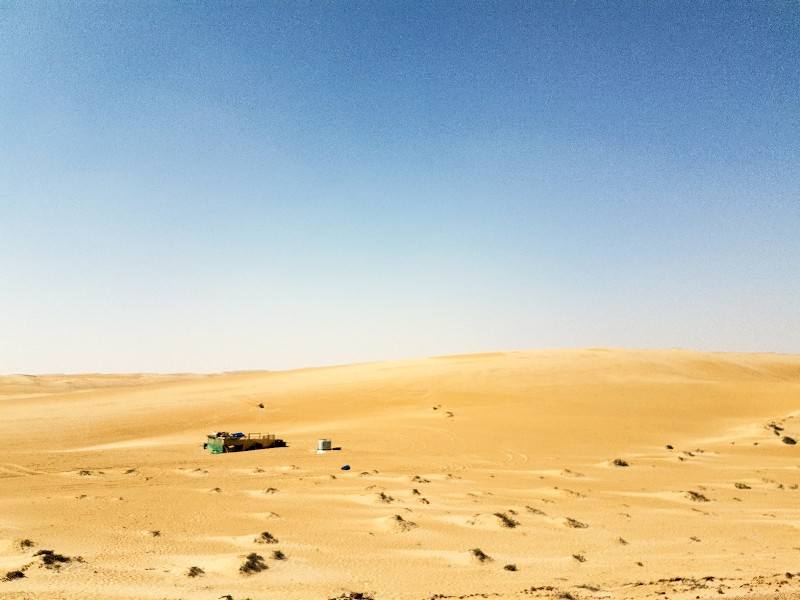 Wahiba Sands Oman kamperen bedoeïenen