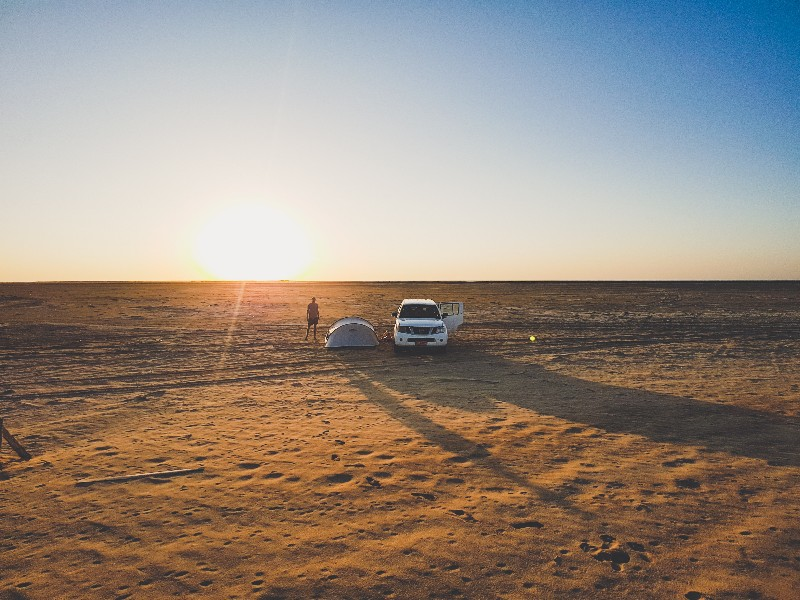 Filim beach Oman schildpadden