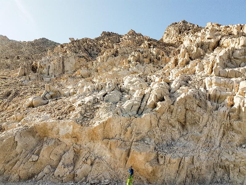 Jebel Samhan kamperen Oman