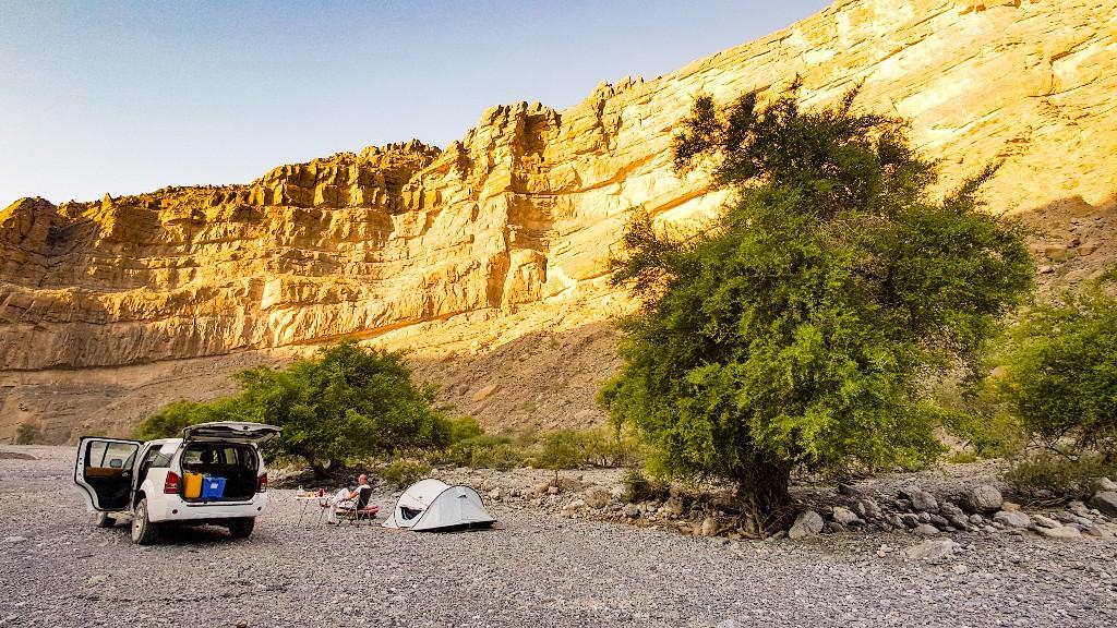 Kamperen Wadi Al Muaydin Oman