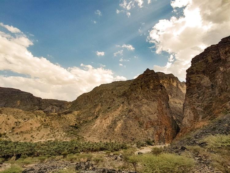 Snake Gorge Wadi Bani Awf Oman 4wd