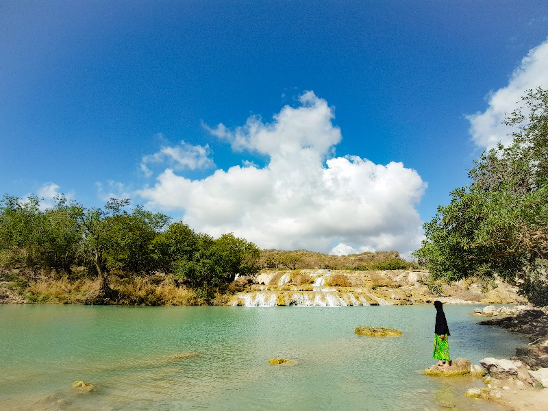 Wadi Darbat Taqam Oman waterval