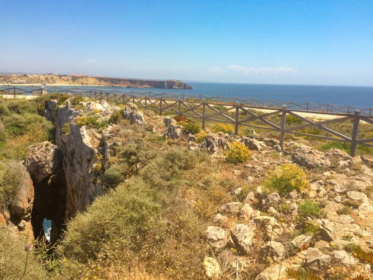Cabo de Sao Vicente Algarve Portugal