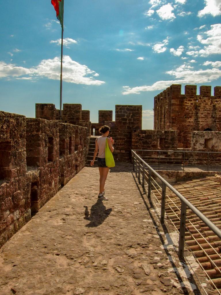 Silves fort Algarve Portugal