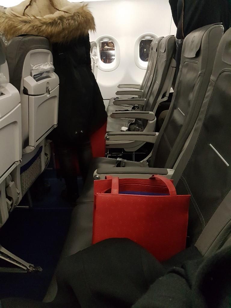 Lufthansa lege stoelen