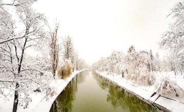 boga rivier rozenpark Timisoara Roemenië