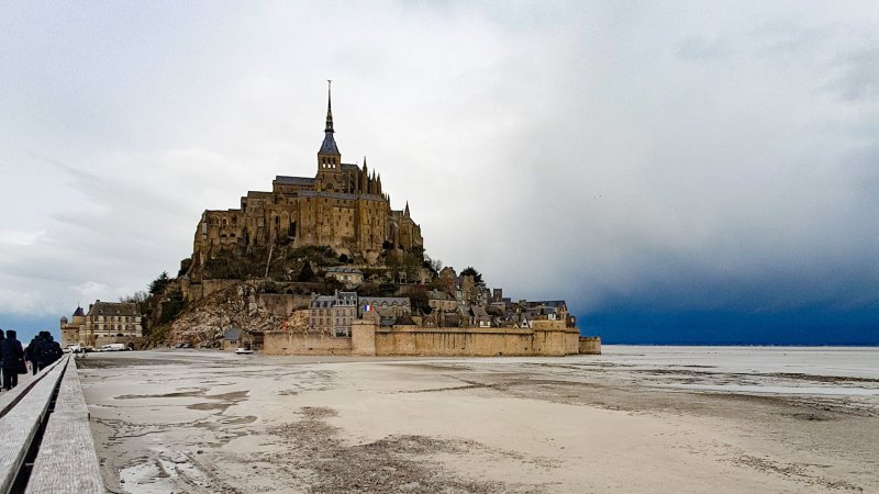 Mont Saint Michel Frankrijk