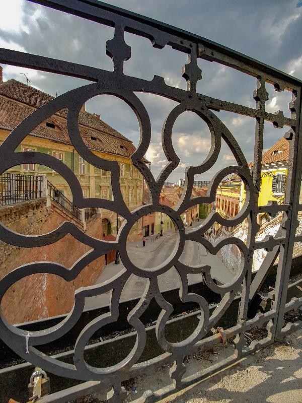 Brug Sibiu Roemenie