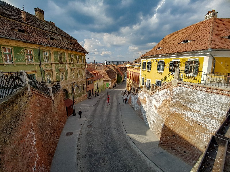Bridge of lies Sibiu Roemenië