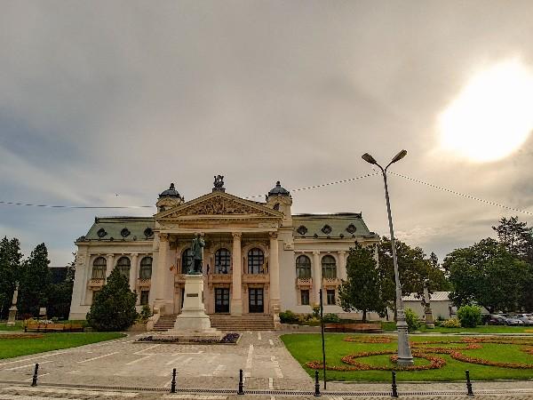 Iasi bezienswaardigheden Roemenië Nationaal Theater